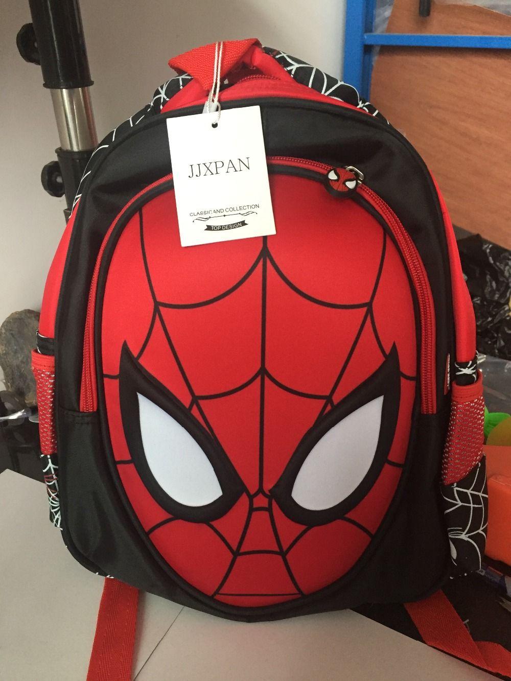Mochila Infantil Homem Aranha Spider Man