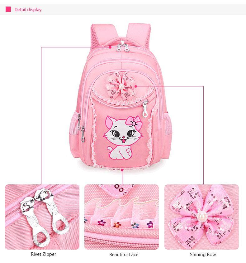 Mochila Escolar Gatinha - Sweet Cat
