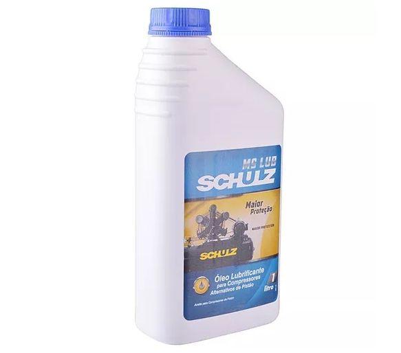 Óleo Para Compressor De Ar Pistão 1 Litro Ms Lub Schulz