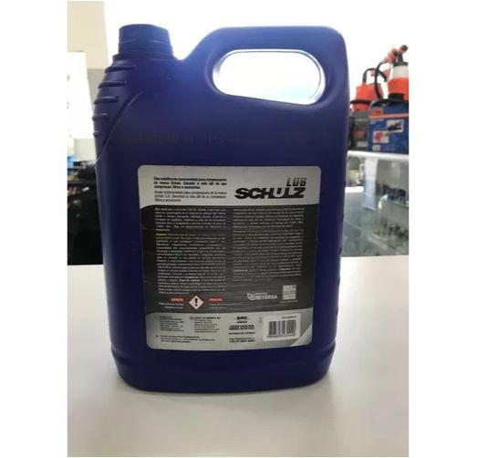 Óleo para Compressor de Ar Rotativo de Parafuso LUB Schulz Mineral 1000 4 Litros