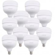 10 Lâmpada Led 50w Alta Potência E27 Branco Empalux Bivolt