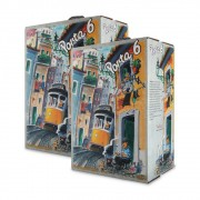 2 VINHOS PORTA 6 BAG IN BOX 3000ml
