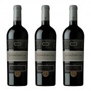 3 Vinho Tinto Pater Familiae Filius Chileno 750ml Importado