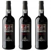 3 VINHOS PORTO CALEM RUBY VELHOTES