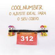 Cinto Porta Número Coolnumber com Porta Gel Ciacool
