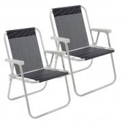 Kit 2 Cadeiras Alta Lazy Bel Fix