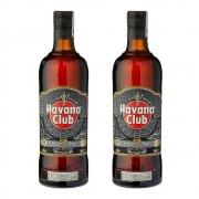 Kit 2 Rum Havana Club 7 Anos 750ml