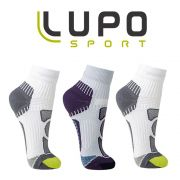 Kit 3 Meias Running Cano Curto Lupo