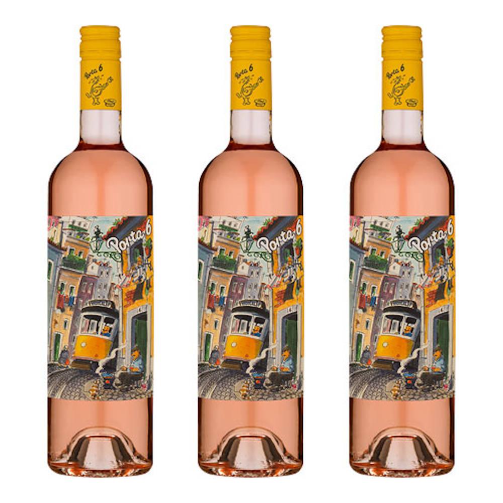 3 VINHO ROSE PORTUGUES PORTA 6