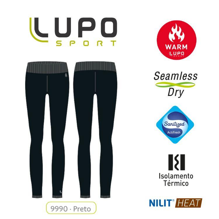 Calça Legging Underwear Warm Feminina Lupo - RYNO FITNESS 033da8930c8d6