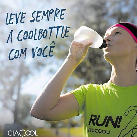 Coolbottle - Garrafinha de Hidratação 200ml