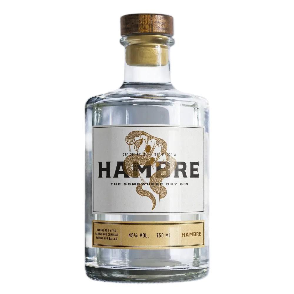 GIN HAMBRE TRADICIONAL GARRAFA 750 ml