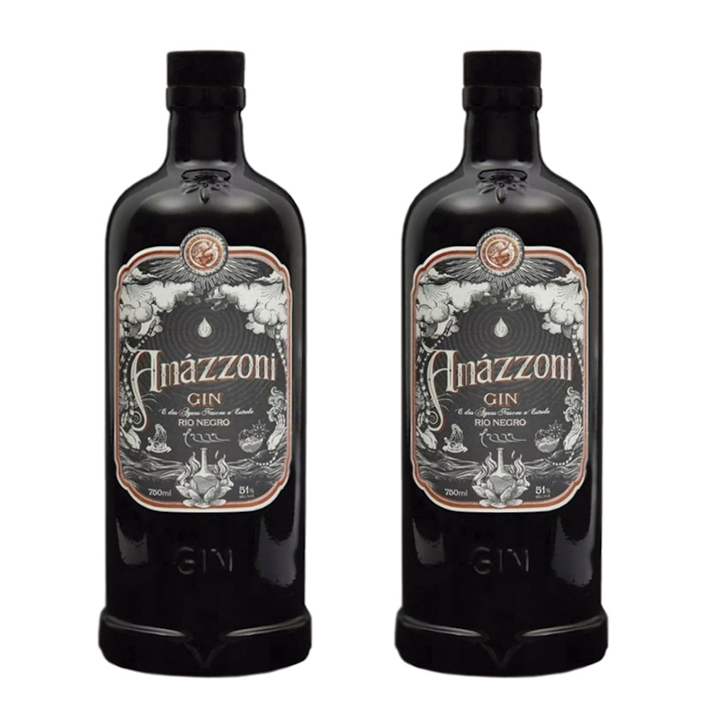 KIT 2 GIN AMAZZONI RIO NEGRO 750ml