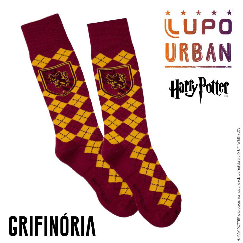 Meia Lupo Urban Harry Potter Grifinória