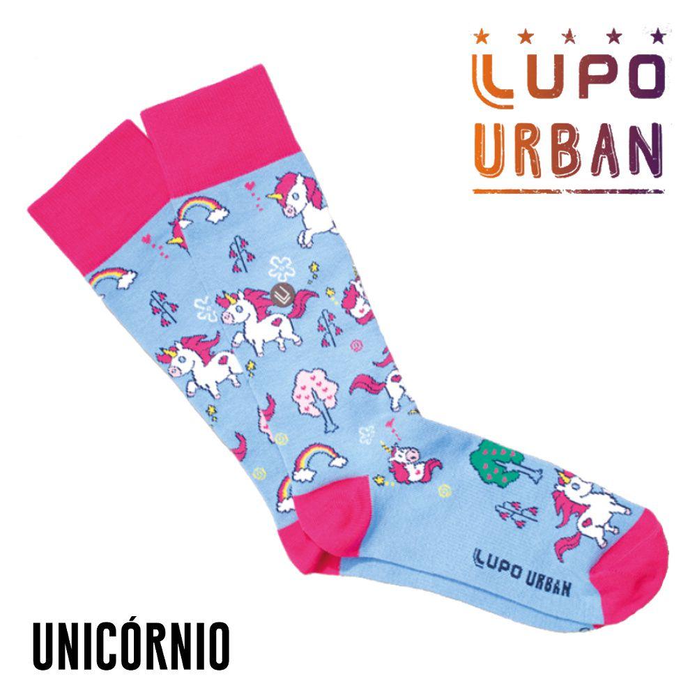 Meia Lupo Urban Unicórnio