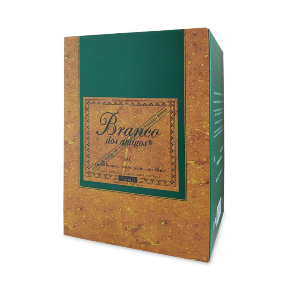 VINHO BRANCO DOS AMIGOS BAG IN BOX 5000ml