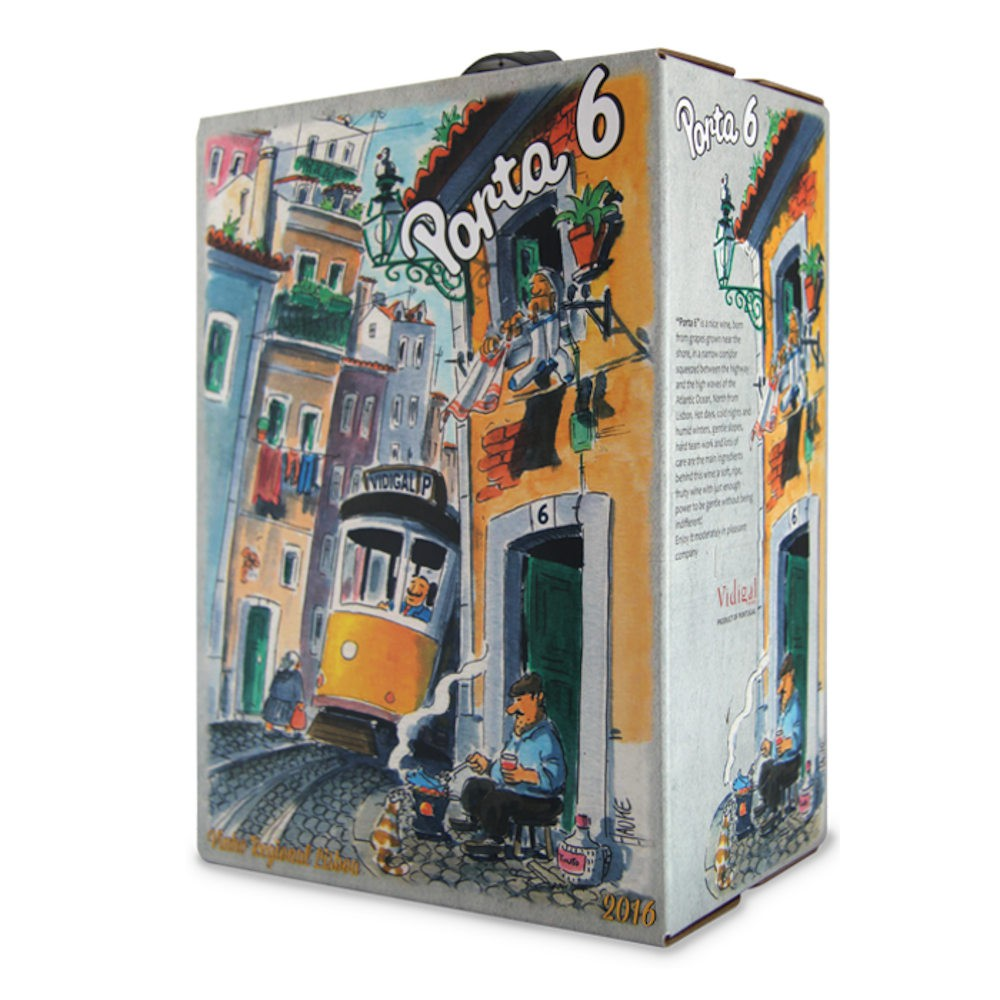 VINHO PORTA 6 TINTO BAG IN BOX 3000ml