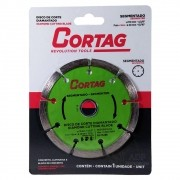 Disco de Corte Diamantado Segmentado 110 MM 60973 Cortag