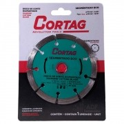 Disco de Corte Diamantado Segmentado 110 MM Eco Cortag