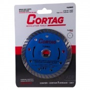 Disco de Corte Diamantado Turbo 110 MM 60599 Cortag