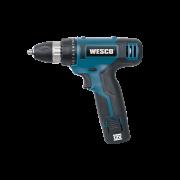 Parafusadeira Furadeira 12v 10mm WS2532 - Wesco