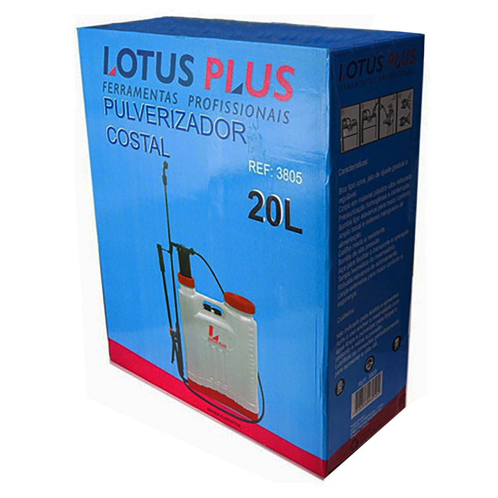 Bomba Costal Pulverizador Manual 20 Litros Lotus