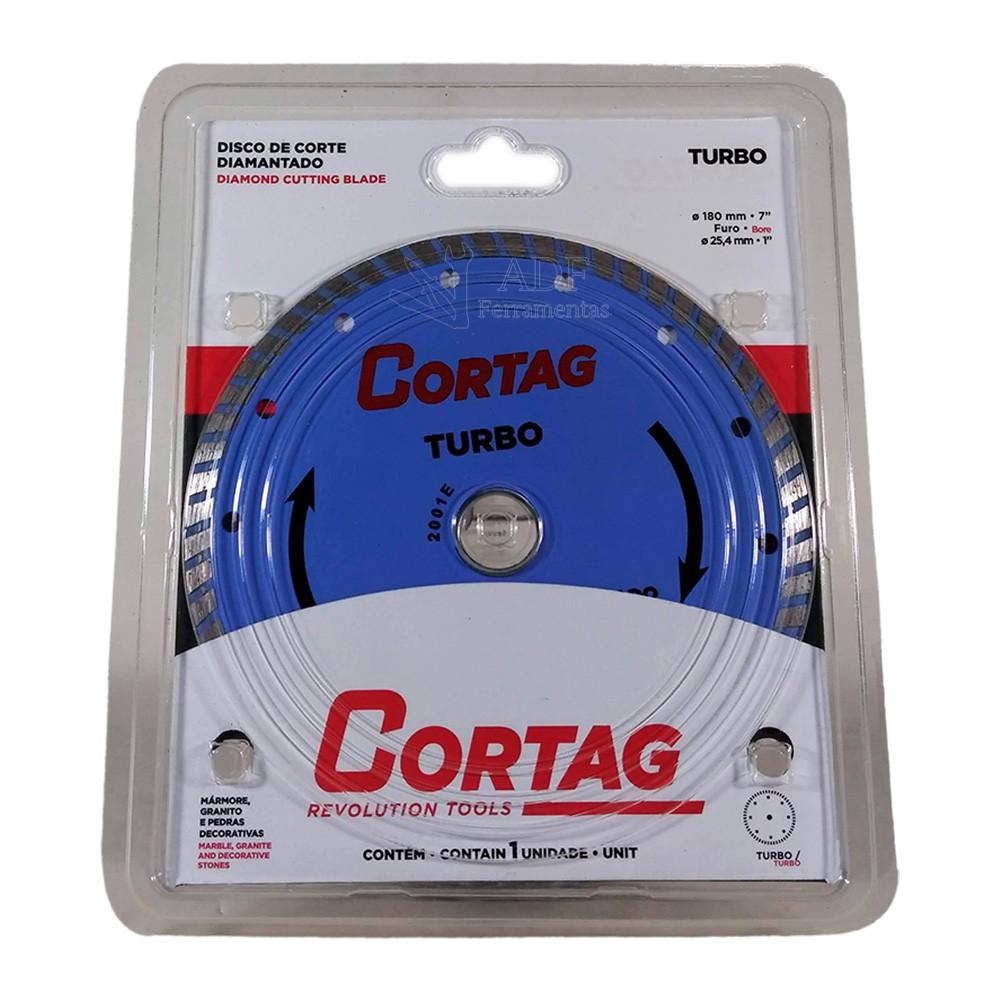 Disco De Corte Diamantado Turbo 254 MM F. 25.4 MM - CORTAG