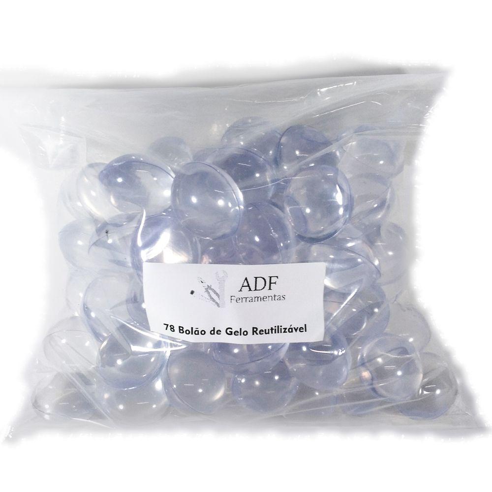 Gelo Reutilizavel de Silicone Pacote com 78 bolas