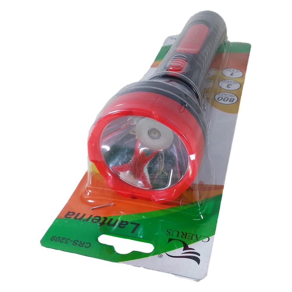 Lanterna Recarregável 01 Led 800mah Bivolt 3209