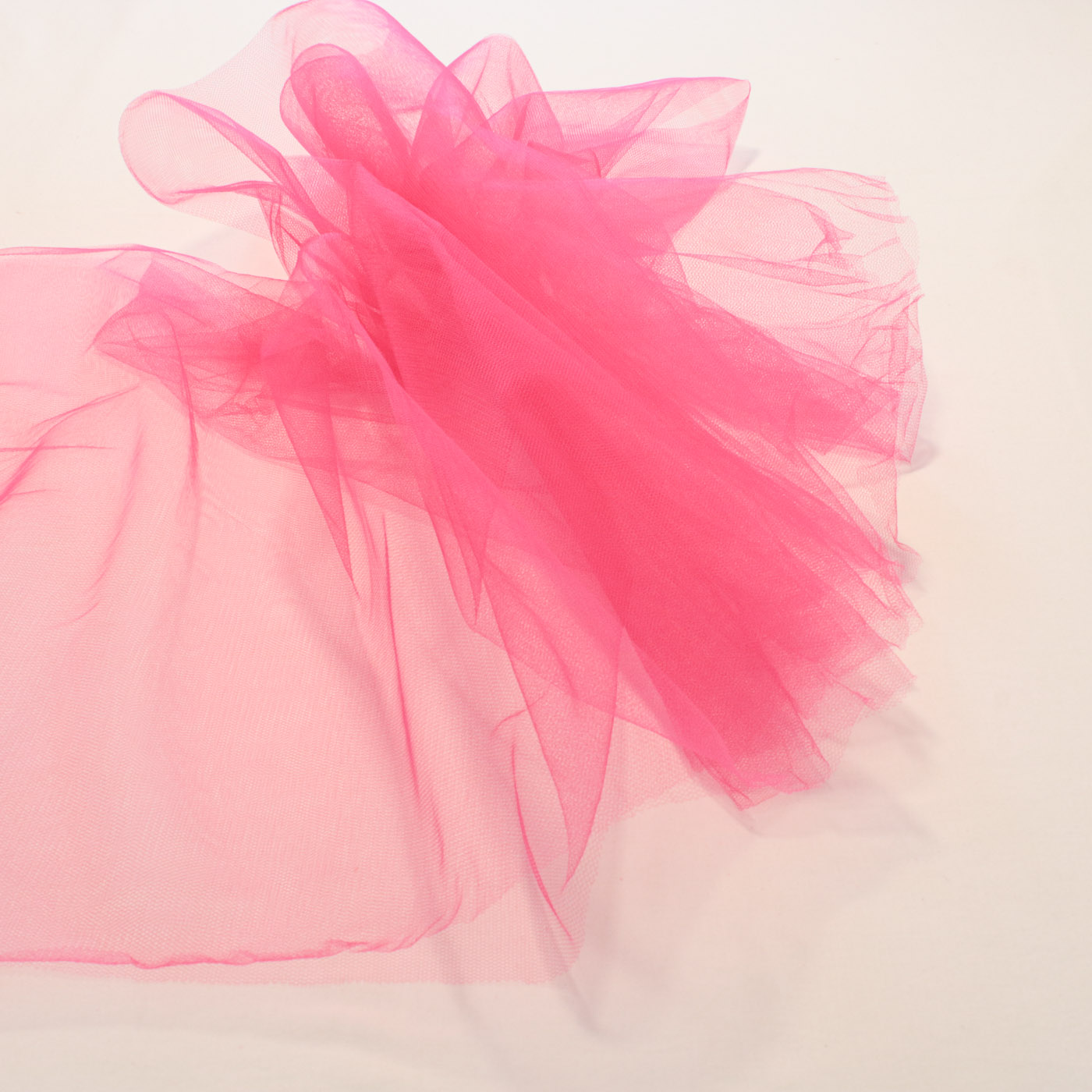 10 Metros Tecido Tule 100%Poliéster 1,20Mt Largura Rosa Pink
