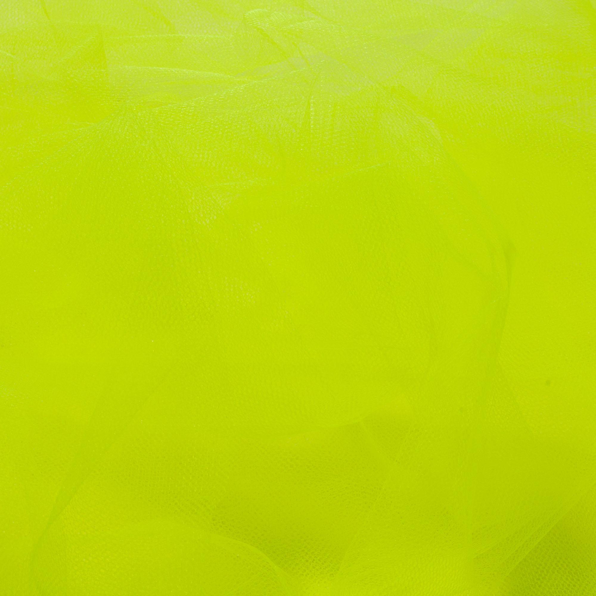 10 Metros Tecido Tule 1,20 Mt Largura Amarelo Limão
