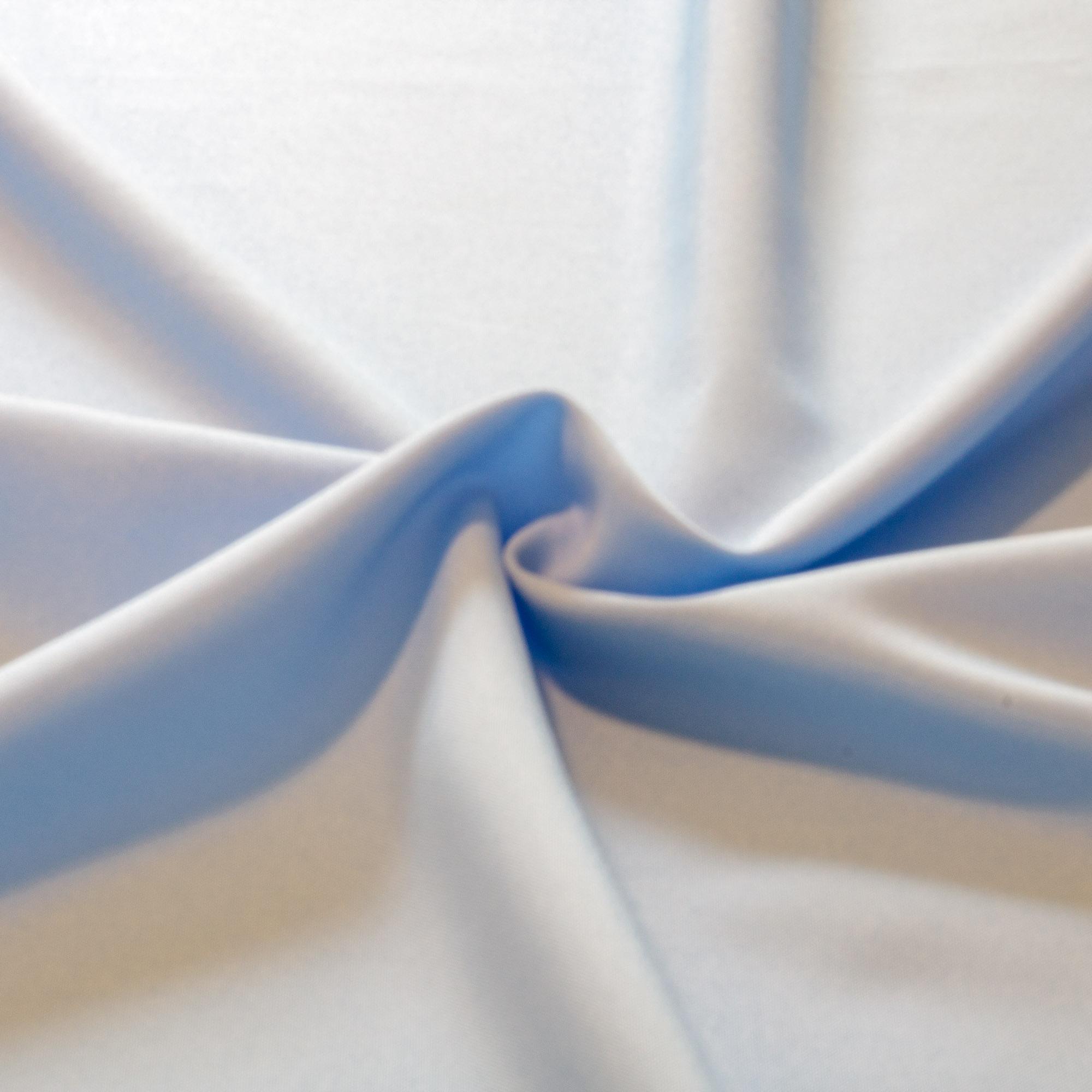 1,50 Metros Tecido Para Toalha de Mesa Oxford Azul Bebe Liso