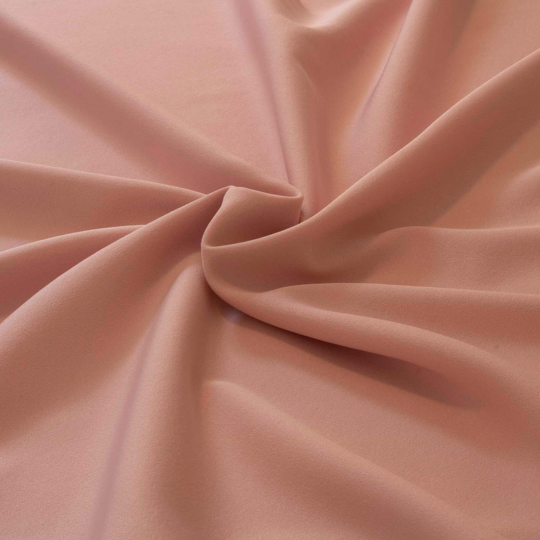 20 Metros Tecido Gabardine Two Way Rose Com Elastano