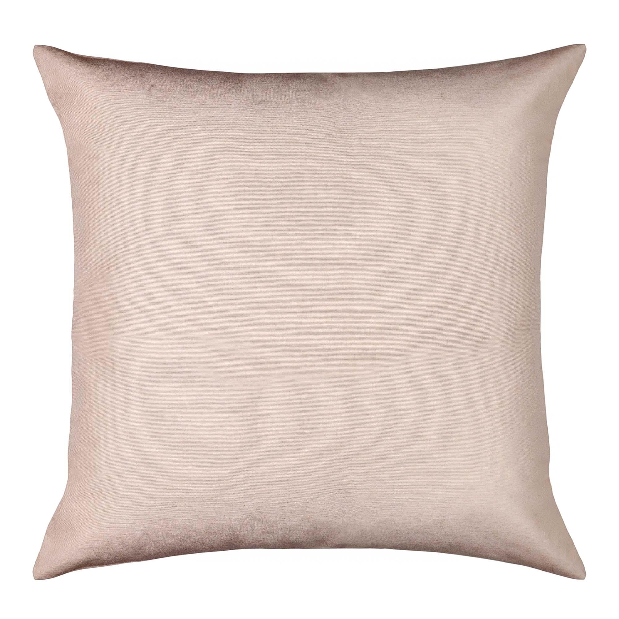 Capa para almofada santista madri 45 x 45 cm 81% algodao 19% poliester nude