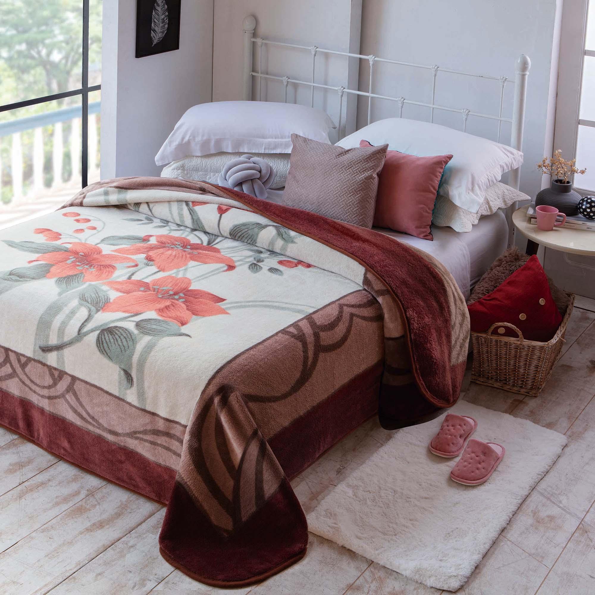 Cobertor Jolitex Casal Kyor Plus 1,80x2,20m Acores