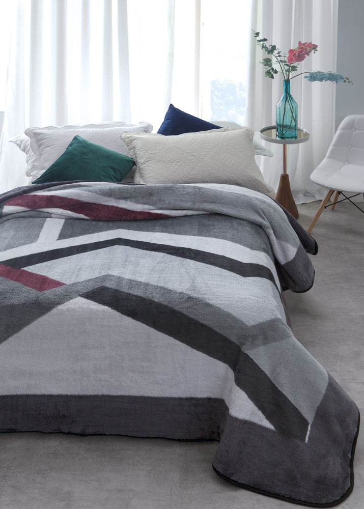 Cobertor Jolitex Casal Kyor Plus 1,80x2,20m Amalfi