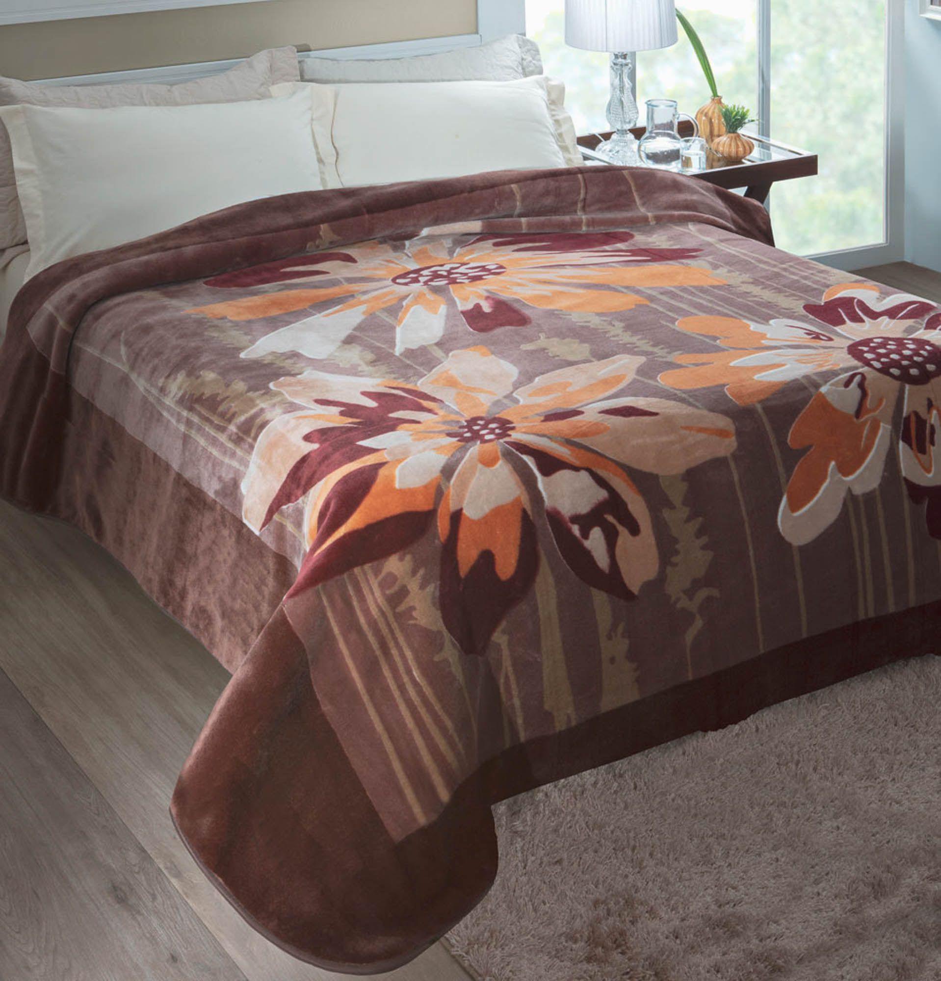 Cobertor Jolitex Raschel Casal 1,80x2,20m Columbia