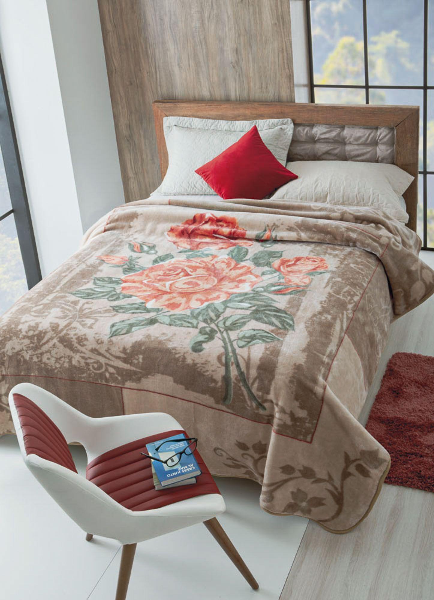 Cobertor Jolitex Raschel Casal 1,80x2,20m Elegance
