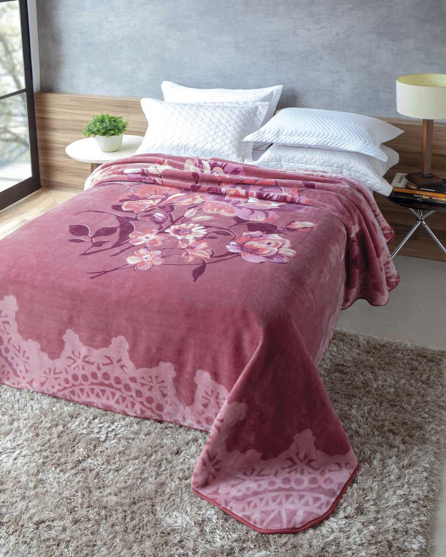 Cobertor Jolitex Raschel Casal 1,80x2,20m Essencia