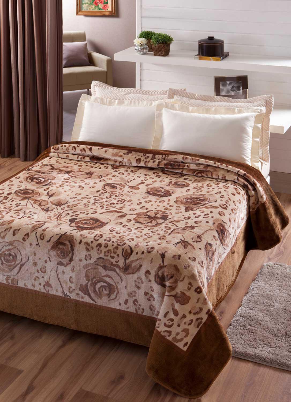 Cobertor Jolitex Raschel Casal 1,80x2,20m Java