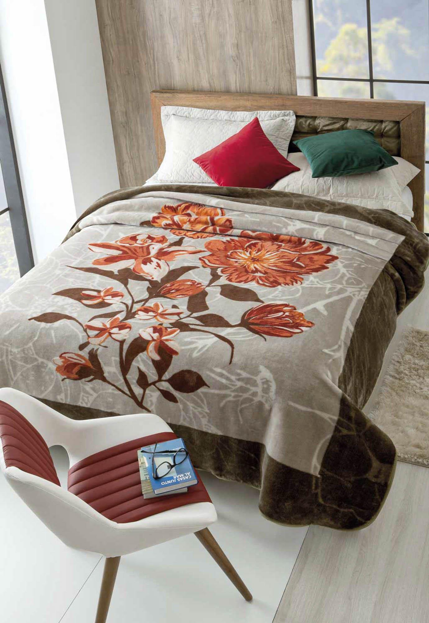 Cobertor Jolitex Raschel Casal 1,80x2,20m Renascensse
