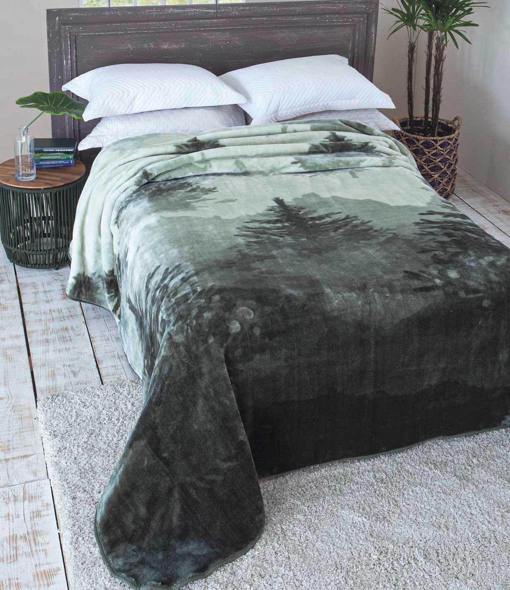 Cobertor Jolitex Raschel King 2,20x2,40m Colina