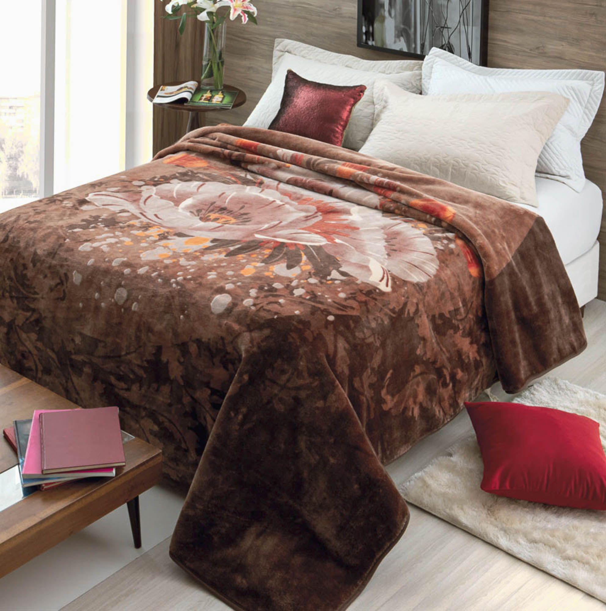 Cobertor Jolitex Raschel King 2,20x2,40m Fragrancia