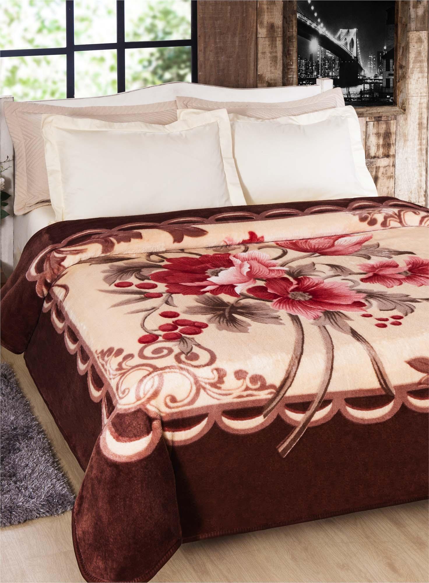 Cobertor Jolitex Casal Kyor Plus 1,80x2,20m New Fiore