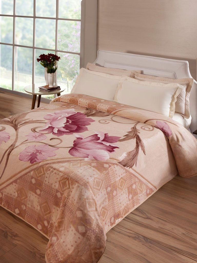 Cobertor Microfibra Jolitex Montecarlo Kyor Plus Casal 1,80 m x 2,20 m 100% Poliester