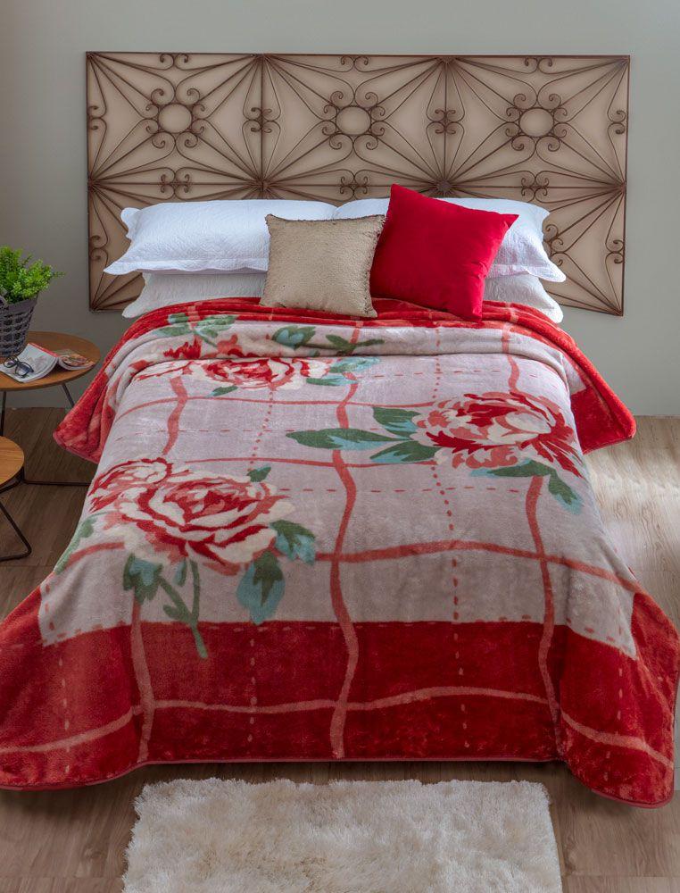 Cobertor Microfibra Jolitex Orvieto Kyor Plus King 2,20 m x 2,40 m 100% Poliester