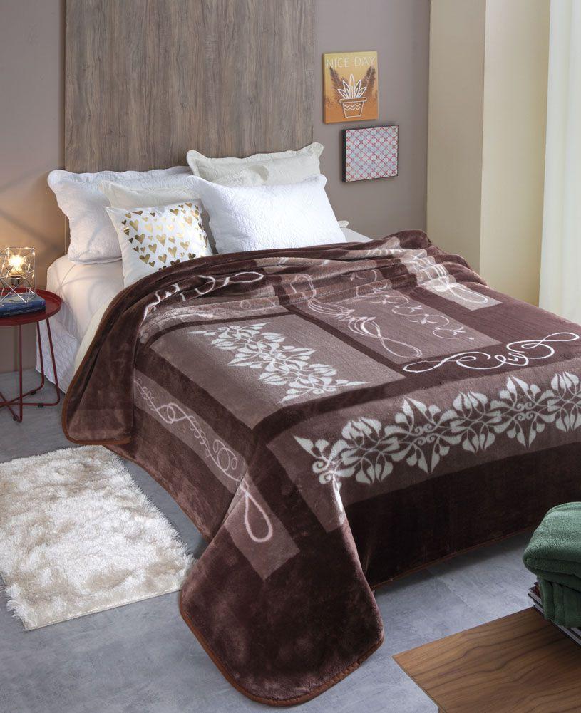Cobertor Microfibra Jolitex Positano Kyor Plus King 2,20 m x 2,40 m 100% Poliester
