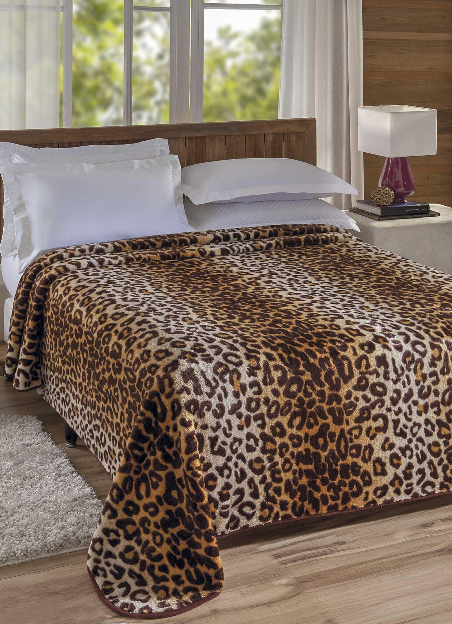 Cobertor Jolitex Casal Kyor Plus 1,80x2,20m Sudão