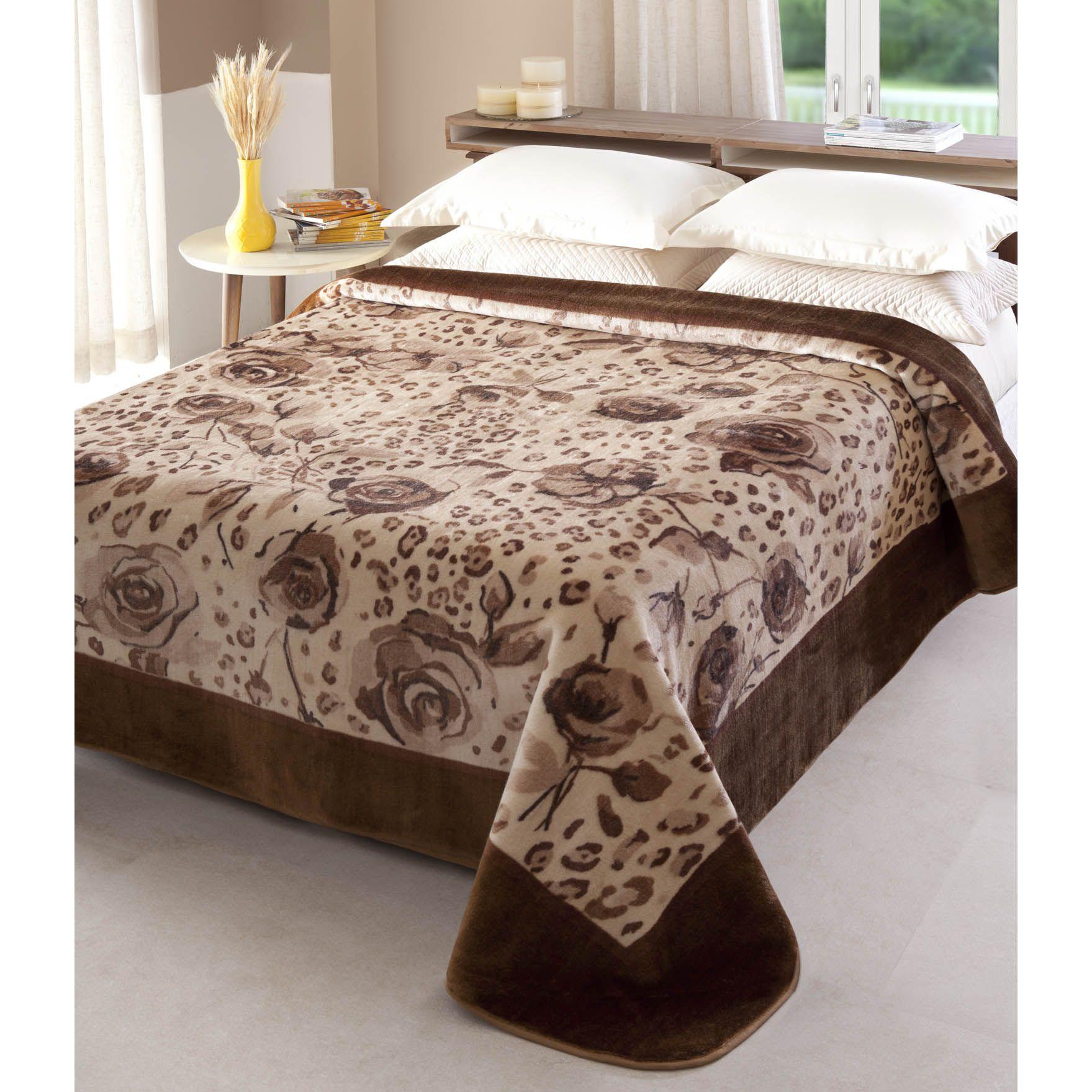 Cobertor Não Alérgico Jolitex Raschel Java Casal 1,80 m x 2,20 m