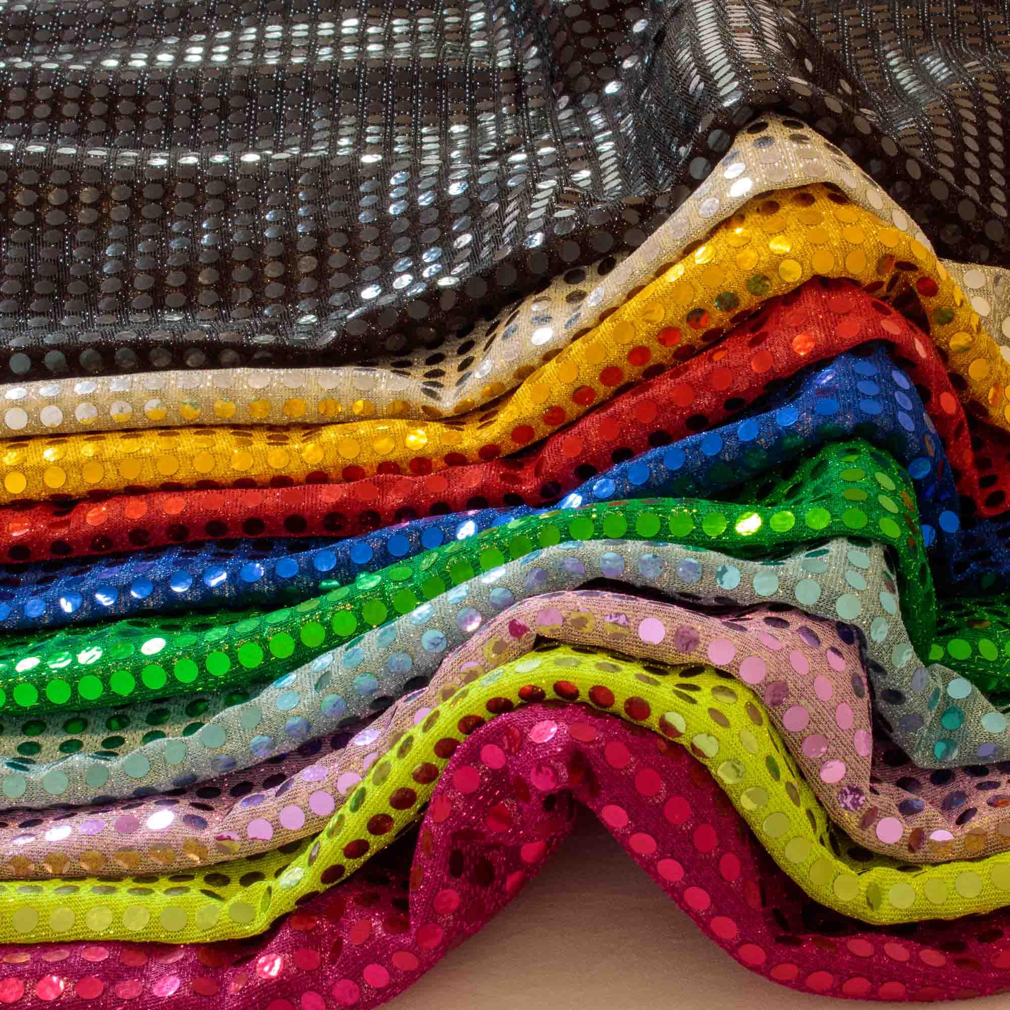 Kit Tecido Paete 10 metros com 10 cores 1,00 Mt Largura